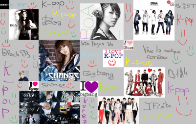 montage spéciale k-pop pour le zhénith de paris