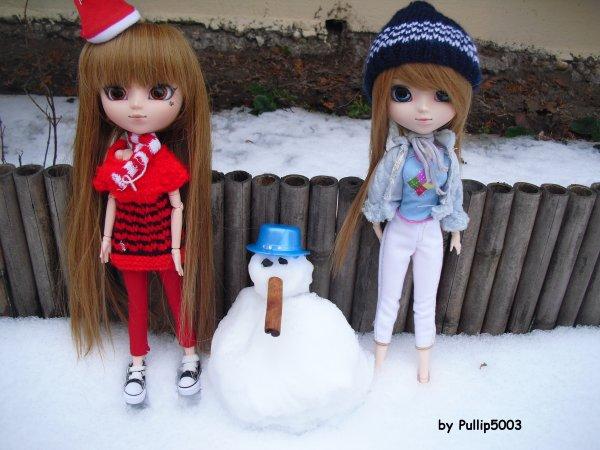 sp dans la neige