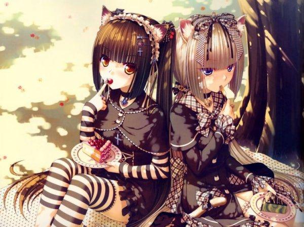 les 2 soeur :) =)