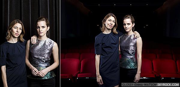 Deux nouvelles photos d'Emma et de Sofia Coppola sont apparues. Ces photos ont été prises par Brian Harkin pour le journal USA Today.