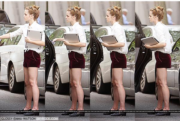 DIVERS⎪CANDIDS⎪EVENTS⎪PROJETS⎪MAGAZINE.__________- Posté le 14 juillet 2013 par Glossy-Emma-Watson.__________-