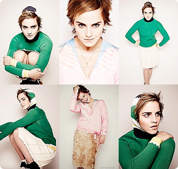 DIVERS⎪CANDIDS⎪EVENTS⎪PROJETS⎪MAGAZINE.__________- Posté le 12 octobre 2013 par Glossy-Emma-Watson.__________-