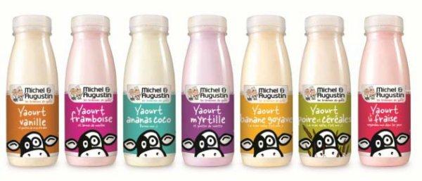 Un yaourt à boire et un fruit comme collation de récupération.