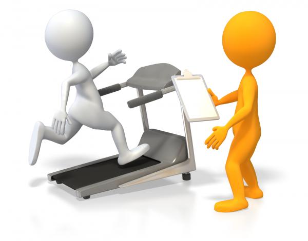 """Notre """"micro-gym"""" itinérant toujours à votre entière disposition..."""