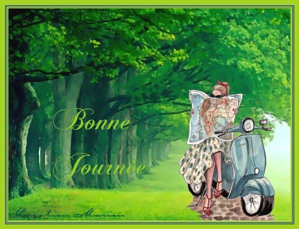 BONNE JOURNEE...
