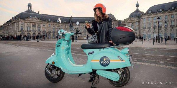 Les scooters électriques en libre service débarquent à Bordeaux :)
