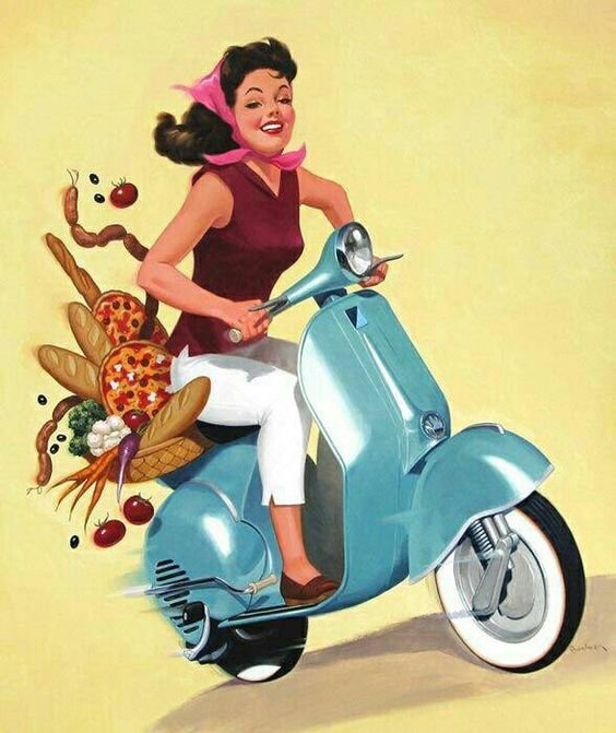 IMAGES ET PHOTOS DE VESPA OFFERTES PAR CHRIS - 2/4