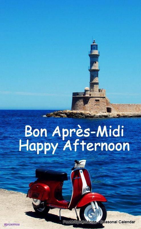 BONNE APRES-MIDI