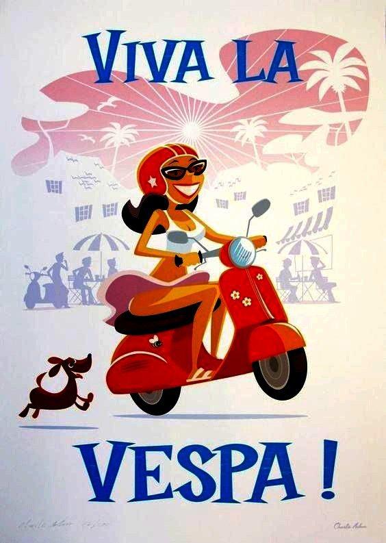 IMAGES DIVERSES & VARIÉES DE VESPA... 1/4 (OFFERTES PAR CHRIS75113)