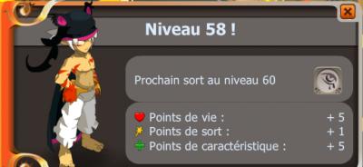 Up 58