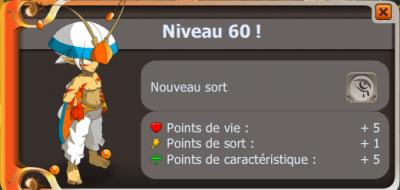 Up 60