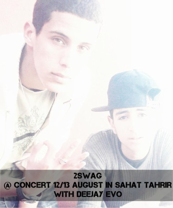 2SWAG ( Jay Sino & H-King ) @ Concert 12/13 August In Sahat Tahrir With Deejay Evo