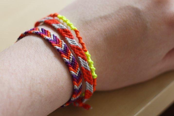 comment faire un bracelet brésilien chevron ...