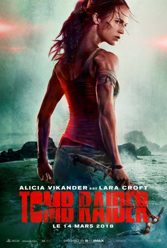 Tomb Raider 2018 le film