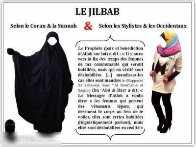 Les conditions du Hidjab - « Et rappel, car le rappel profite aux croyants » Sourate 51 Verset 55 ﷲ