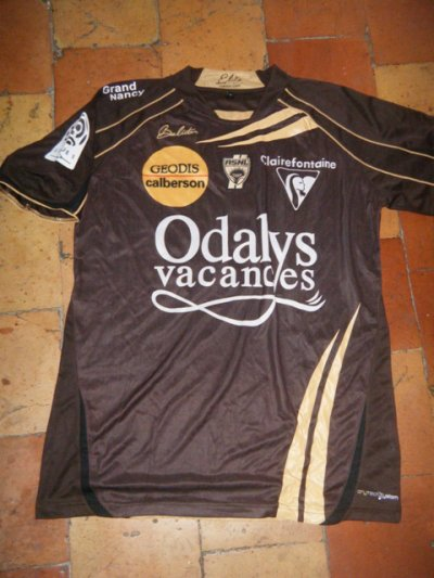 un maillot préparé de Diabaté avec Nancy qui marque pas mal à Bordeaux. Ancien joueur d'Ajaccio également.