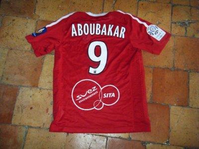 Maillot porté du jeune et talentueux Aboubakar à Valenciennes.