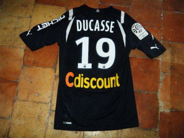 Maillot porté Pierre Ducasse à Bordeaux saison 2010 2011. (actuel joueur de Lens et ancien de Lorient)
