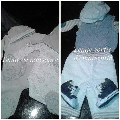 Les tenues de bébé