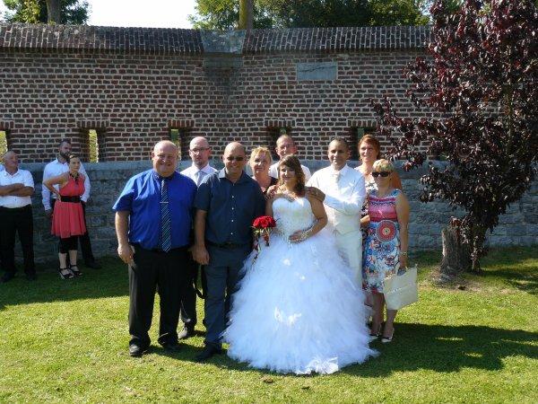 aout 2015 au mariage de Nordine et Vanessa