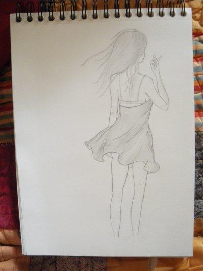 Premier dessin des vakances :)