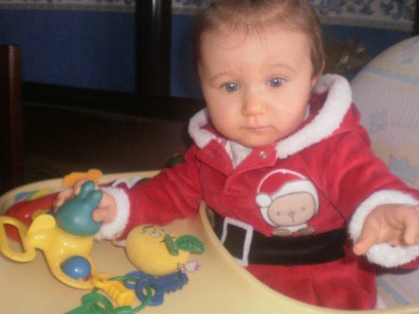 Noel avec ma filleule