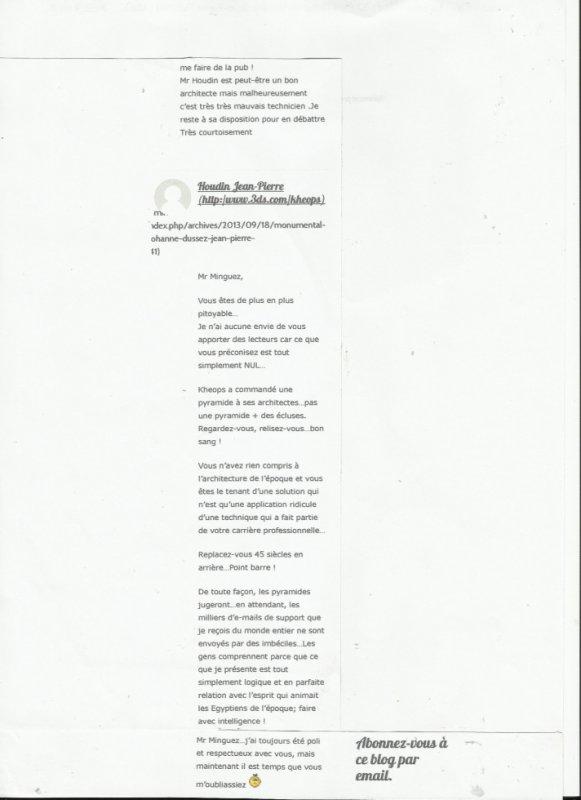 LA  COURTOISIE  DE J P HOUDIN