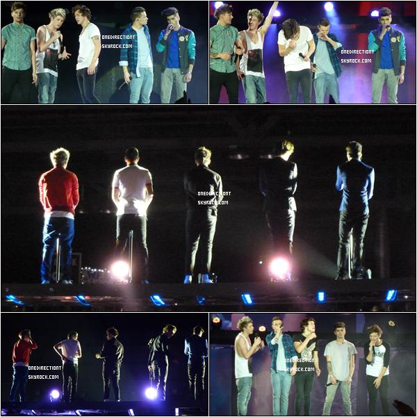 . 26.02.13 : Les boys ont fait leurs troisième concert pour le TMHT à Glasgow en Ecosse.  .