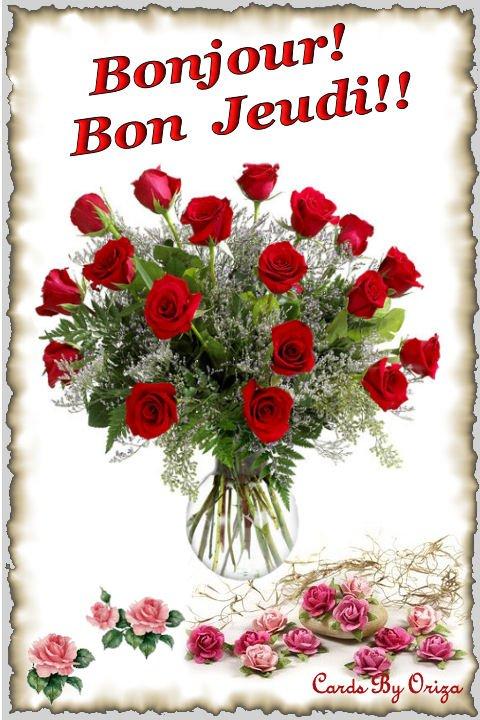Bon Jeudi A Tous Gros Bisous A Tous Mes Amis Es Blog De