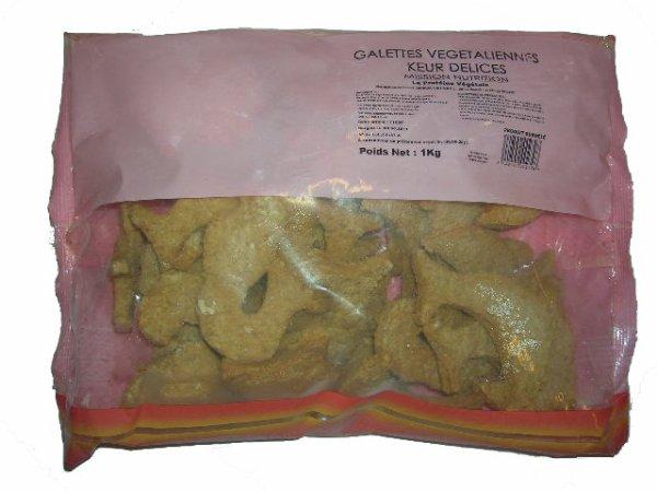 Keur Délices, Galettes de  protéines de soja ( Mission nutrition ).