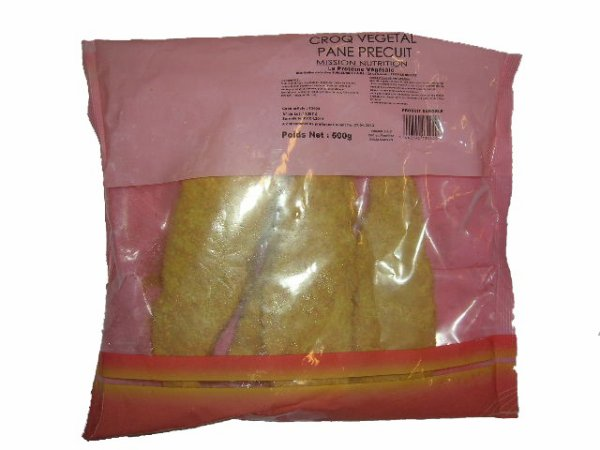 Croqs pannés végétaliens ( Mission nutrition ).