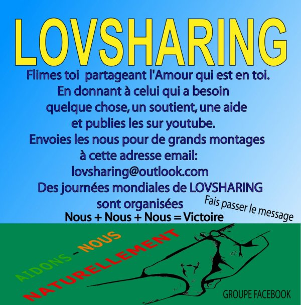 Pratiques le LOVSHARING!, bog skyrock  et chaine youtube : lovsharing.
