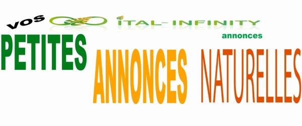 page facebook d'ITAL-INFINITY: vos petites annonces naturelles