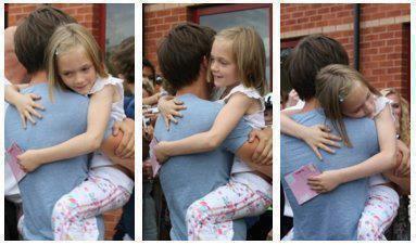 Louis avec sa petite soeur <3