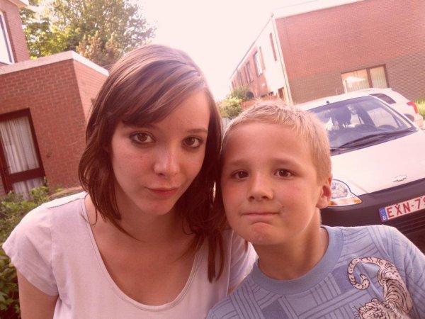 ma fille alison et mon fils xavier