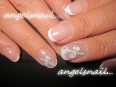 pose gel deco a l'acrylique : ))