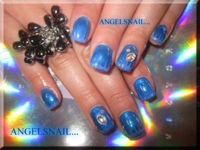 pose gel deco gel et strass