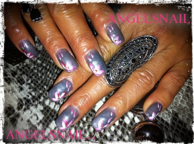 pose gel deco acrylique