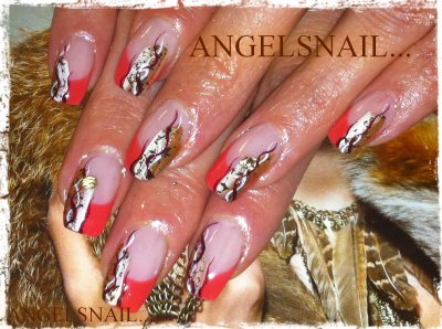 pose gel deco acrylique....