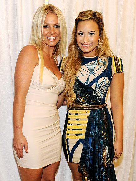 Demi lovato veut revoir Britney Spears dans X-factor