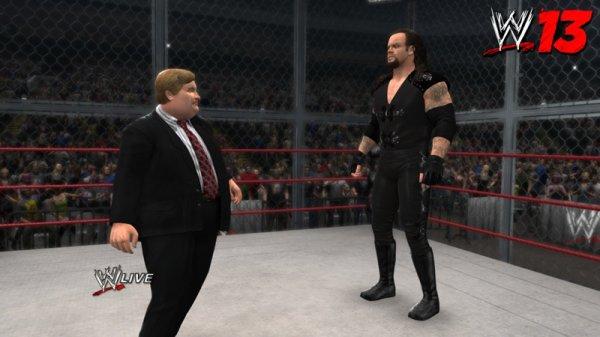 DANS WWE '13, RETROUVEZ LES MANAGERS PAUL BEARER ET RICARDO RODRIGUEZ !