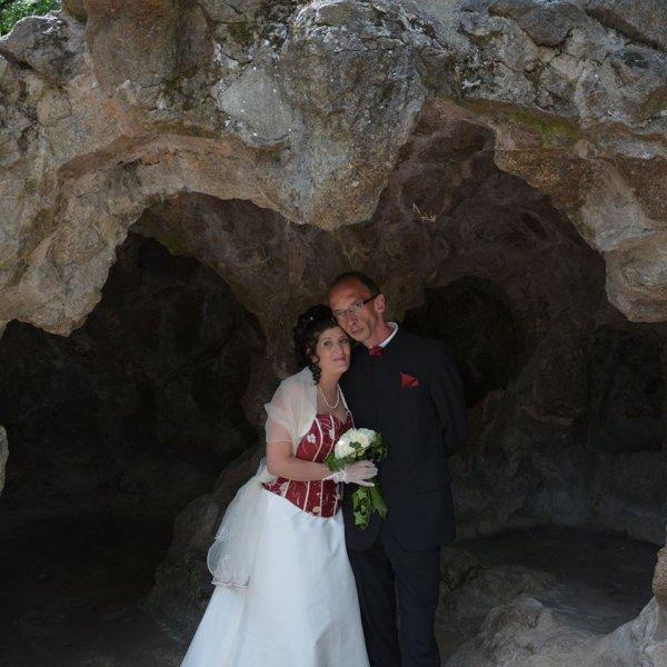 Moi et mon Mari Sandy Mariés le 25 JUILLET 2015