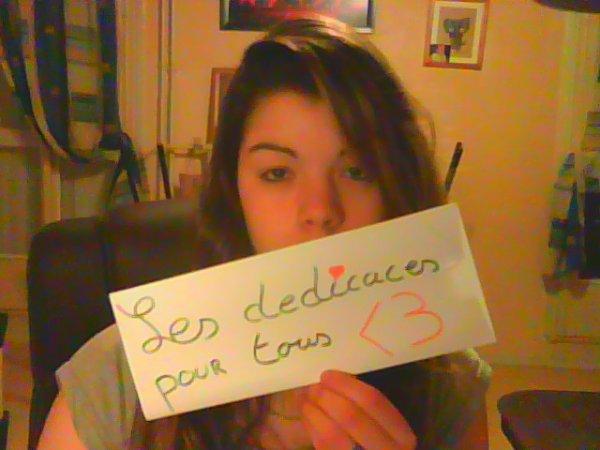Dédicaces Photos Femme