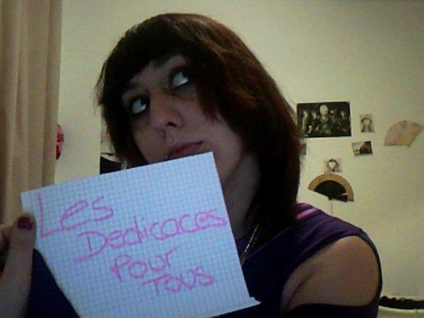 Dédicaces Photo Femme 1