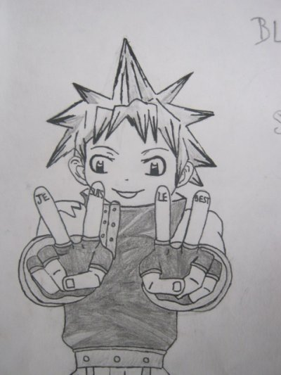 Dessin Black star