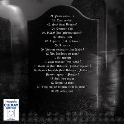 Tracklist de l'album !!