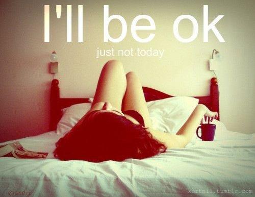 C'est la première fois que je ne peux plus consoler les     autres car j'ai mal moi aussi.