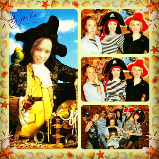 Cute pirates at the party!=)