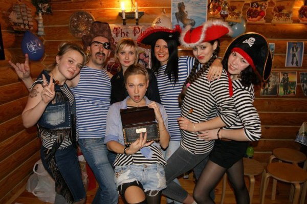 At Pirate's party!