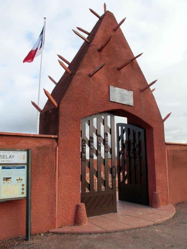 A2056 : La nécropole des tirailleurs sénégalais à Chasselay